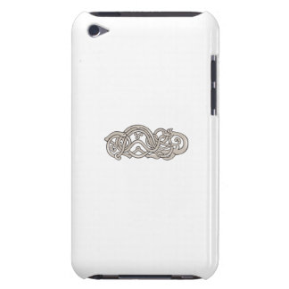Urnes Snake Extended Stomach Retro Case-Mate iPod Touch Case