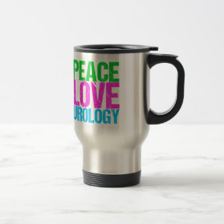 Urologist Peace Love Urology Travel Mug