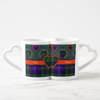Urquhart clan Plaid Scottish tartan Couples Mug