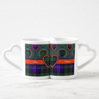 Urquhart clan Plaid Scottish tartan Lovers Mug