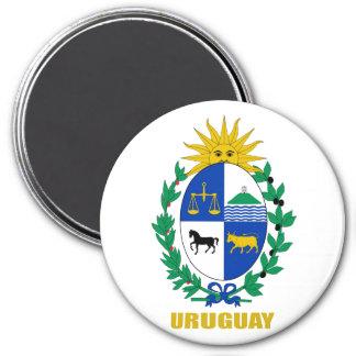 Uruguay Coat of Arms 7.5 Cm Round Magnet