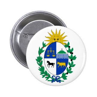 Uruguay Coat of Arms Button