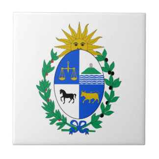 Uruguay Coat of Arms Tile