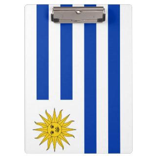 Uruguay Flag Clipboard