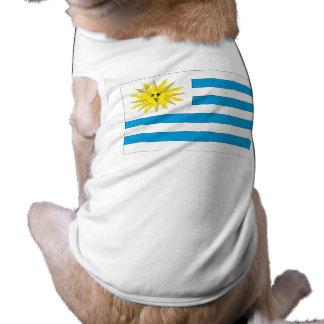 Uruguay Flag Dog Clothing