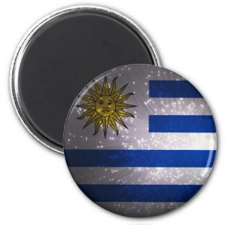 Uruguay Flag Firework Magnet