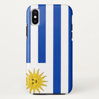 Uruguay Flag iPhone X Case