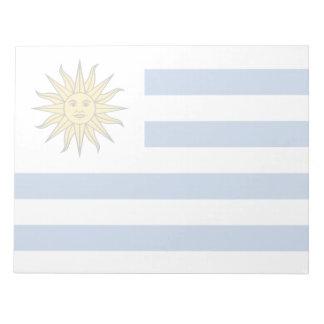 Uruguay Flag Notepad