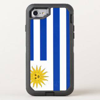 Uruguay Flag OtterBox Defender iPhone 8/7 Case