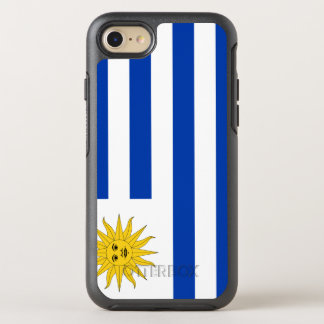 Uruguay Flag OtterBox Symmetry iPhone 8/7 Case