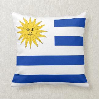 Uruguay Flag pillow