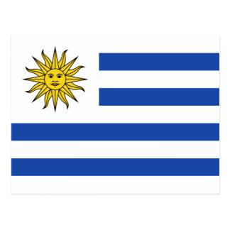 Uruguay Flag Postcard