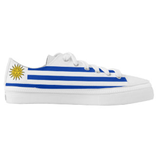 Uruguay Flag Printed Shoes