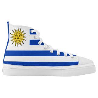 Uruguay Flag Printed Shoes