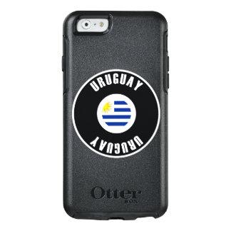 Uruguay Flag Simple OtterBox iPhone 6/6s Case