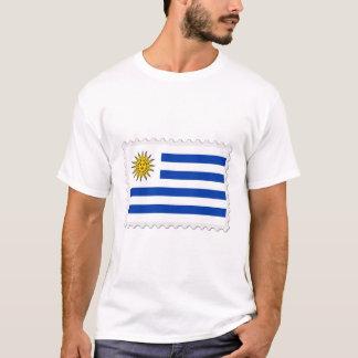 Uruguay flag stamp T-Shirt