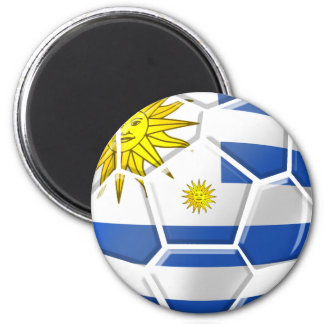 Uruguay La Celeste Uruguayan soccer fans gifts Magnet
