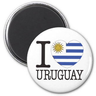 Uruguay Love v2 Magnet
