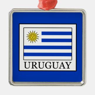 Uruguay Metal Ornament