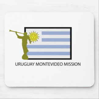 URUGUAY MONTEVIDEO LDS CTR MOUSE PAD