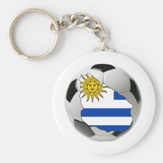 Uruguay national team basic round button key ring