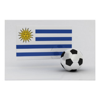 Uruguay Soccer Poster