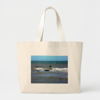 Uruguay Sunken Ship Large Tote Bag