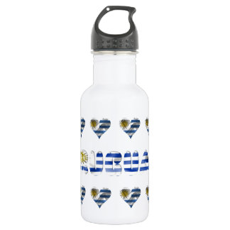 Uruguayan flag 532 ml water bottle