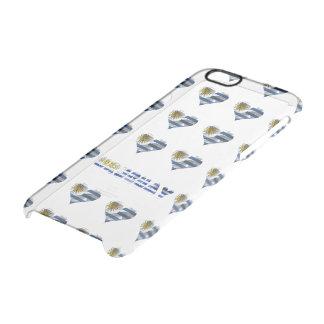 Uruguayan flag clear iPhone 6/6S case
