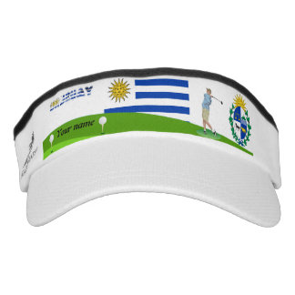 Uruguayan golfer visor