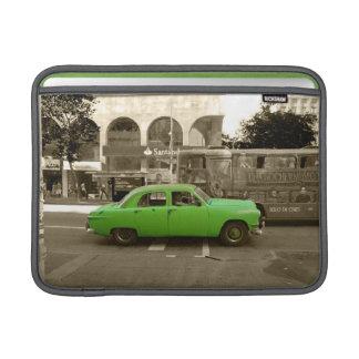 Uruguayan old green car MacBook air sleeve