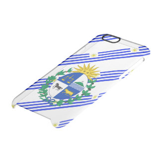 Uruguayan stripes flag clear iPhone 6/6S case