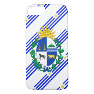 Uruguayan stripes flag iPhone 8/7 case
