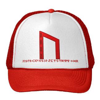 Uruz Rune red Cap