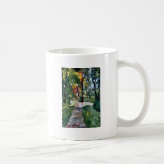 Ury impressionist painting morning sun landscape coffee mug