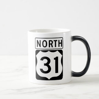 US 31 NORTH MAGIC MUG