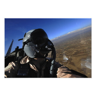 US Air Force Aerial Combat Photographer Photo