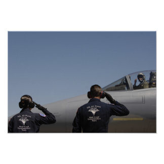 US Air Force Airmen Poster