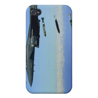 US Air Force F-15E Strike Eagle aircraft Covers For iPhone 4