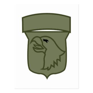 US Airborne Postcard