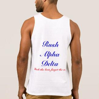 US Alpha Delta *Rush edition* Tanktops