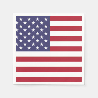 US AMERICAN FLAG | PAPER NAPKIN