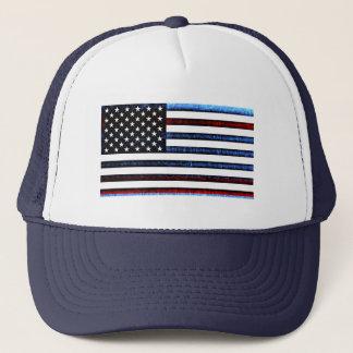 US American Flag Patriotic Red White Blue Cap