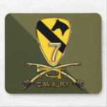 US.Army 7th Cavalry Regiment Mouse Pad