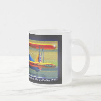 US ARMY FROSTED GLASS MUG