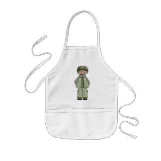 US Army Girl Kids Apron