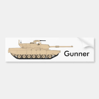 US Army M1A1 Abrams Bumper Sticker