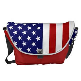 US Bag With The American Flag Commuter Bags