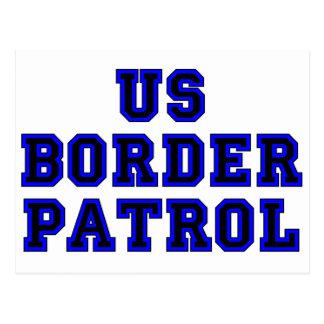 US Border Patrol Postcard