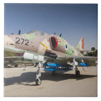 US-built A-4 Skyhawk fighter Large Square Tile